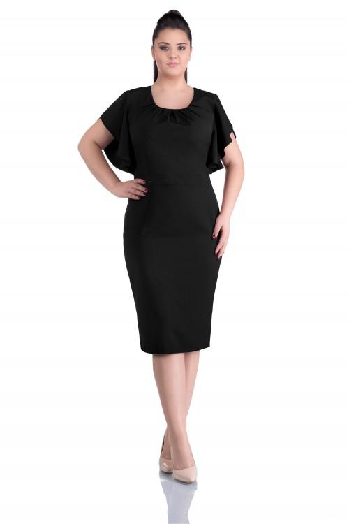 Rochie eleganta neagra Carola