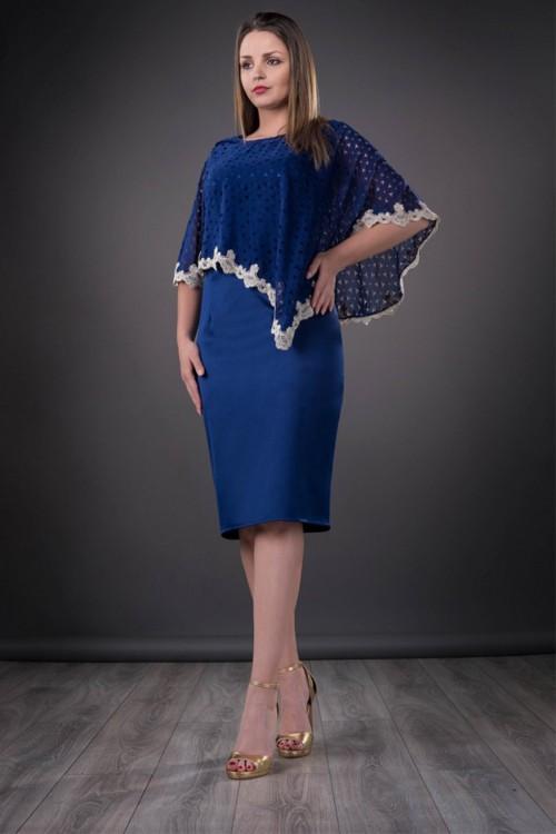 Rochie eleganta albastra...