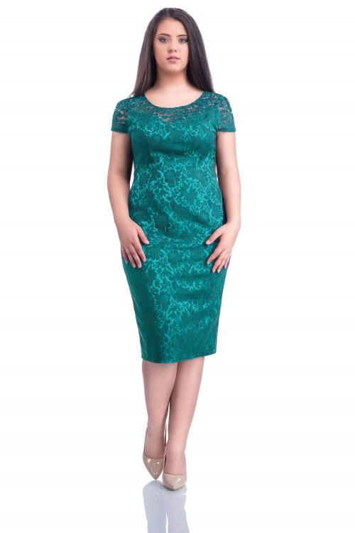 Rochie eleganta turcoaz...