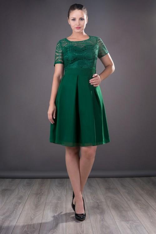 Rochie eleganta verde Ariana