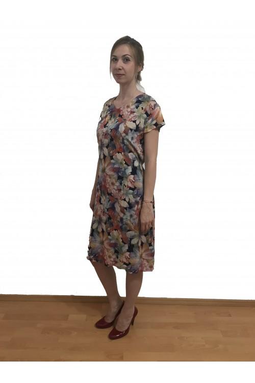 Rochie de zi cu imprimeu...