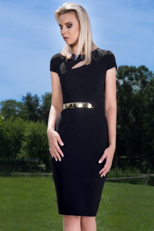 Rochie eleganta neagra...