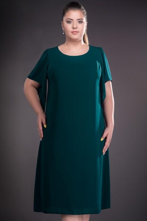 Rochie eleganta de zi verde...