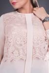 Bluza dama eleganta bej Ofelia