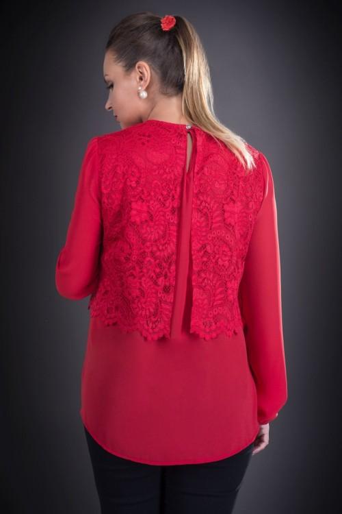 Bluza dama rosie Ofelia