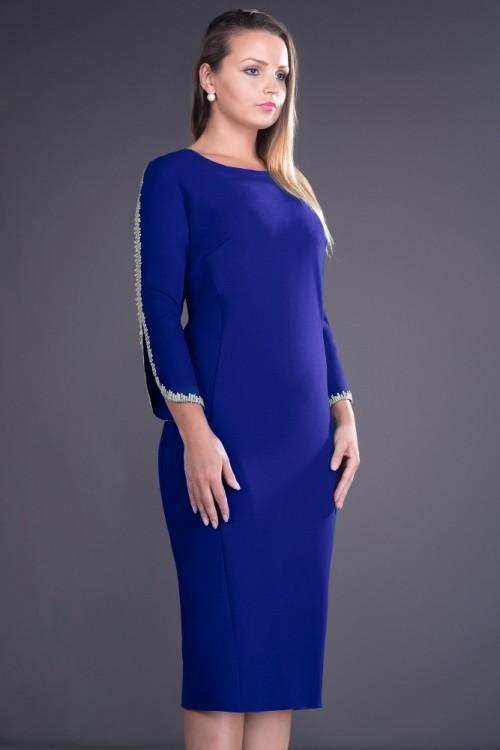 Rochie albastra Otilia