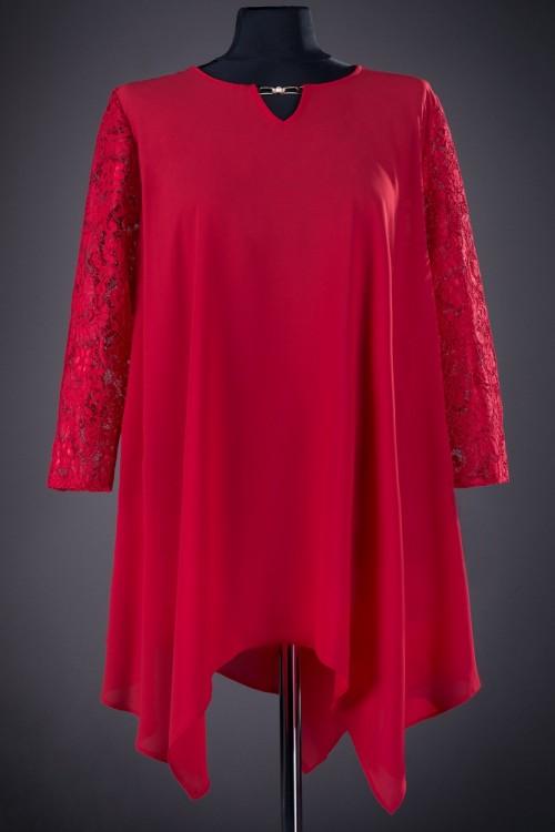 Bluza eleganta rosie Dora