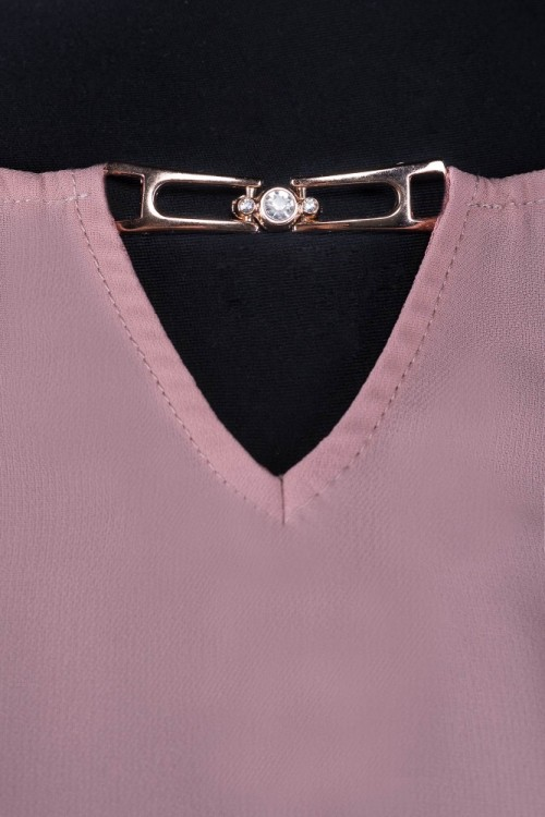 Bluza eleganta cappuccino Dora