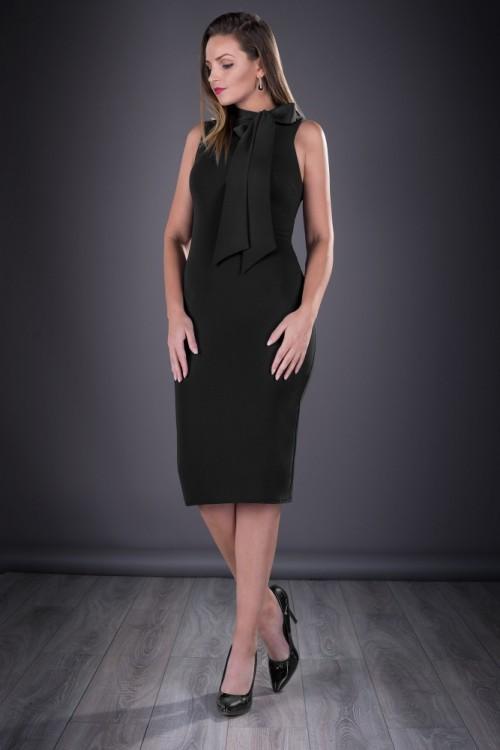 Rochie eleganta neagra Mayra