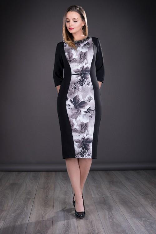 Rochie eleganta neagra cu...