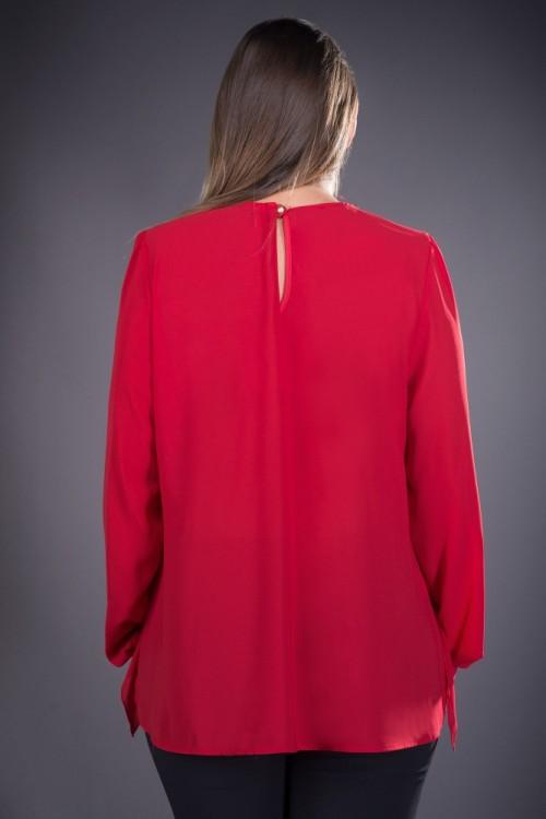 Bluza dama eleganta rosie...