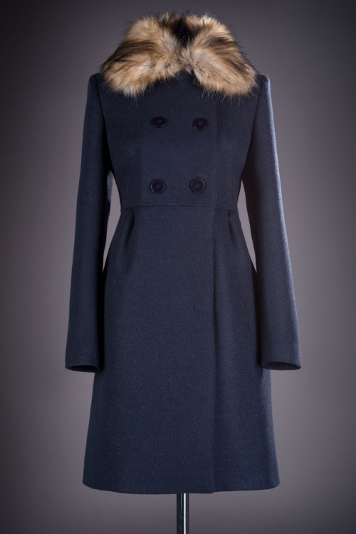 Palton dama cu guler din...