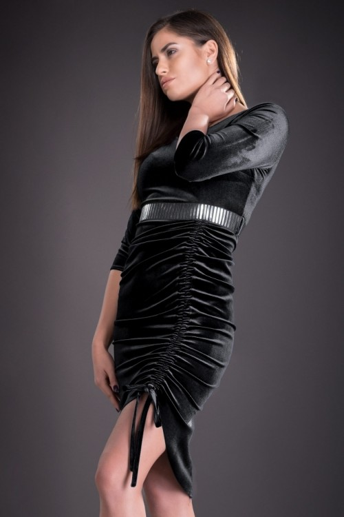 Rochie neagra eleganta din...