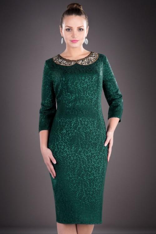 Rochie eleganta verde cu...