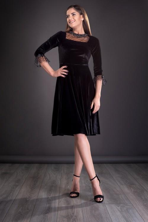Rochie eleganta neagra din...