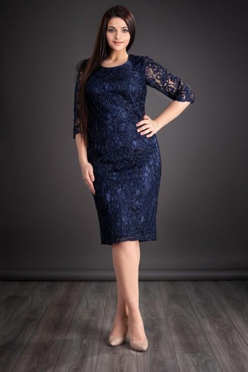 Rochie de seara bleumarin...