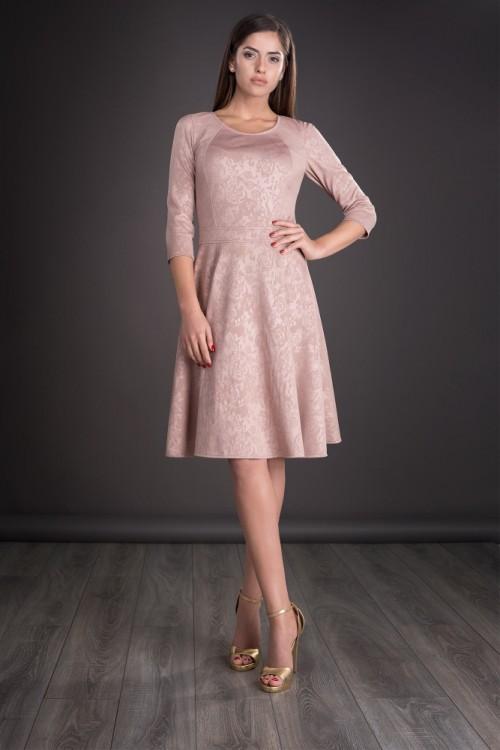 Rochie roz pudra Jorjet