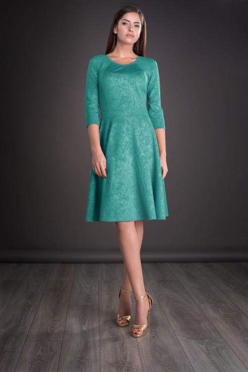 Rochie verde turcoaz Jorjet