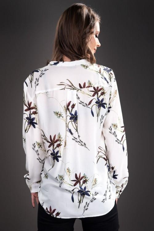 Bluza stil camasa alba...