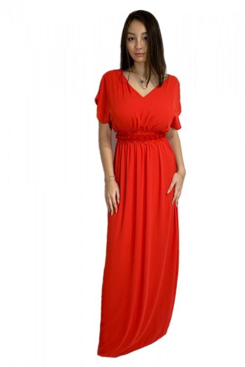 Rochie de seara lunga rosie...
