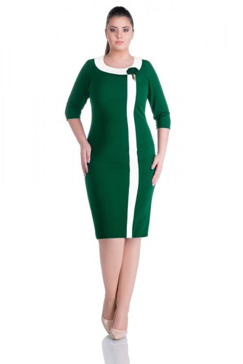 Rochie eleganta verde Natalia