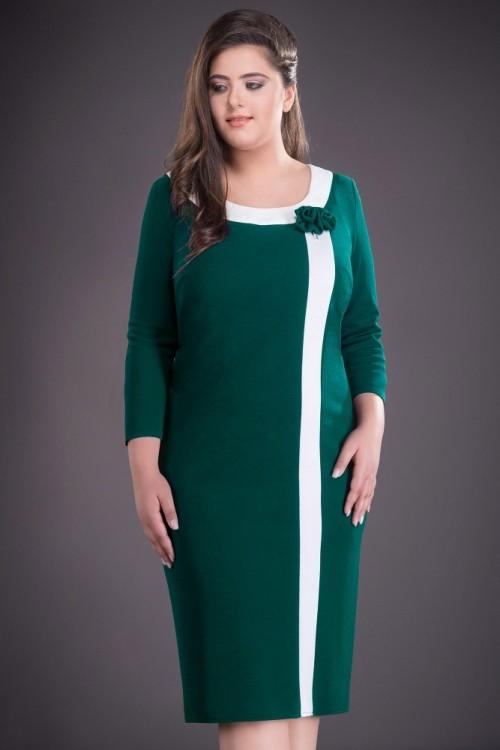 Rochie verde smarald Natalia