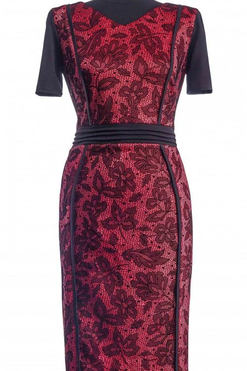 Rochie eleganta cu catifea...