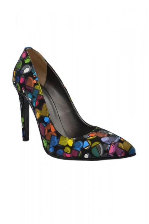 Pantofi dama stiletto piele...