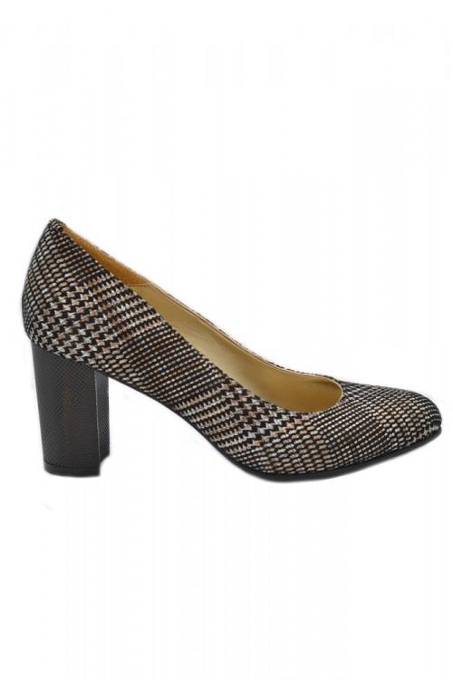 Pantofi dama maro cu...