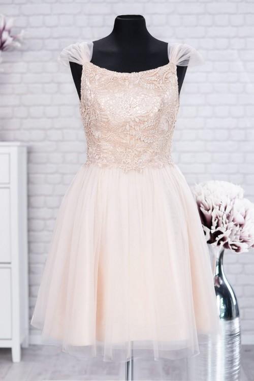 Rochie eleganta alba din...
