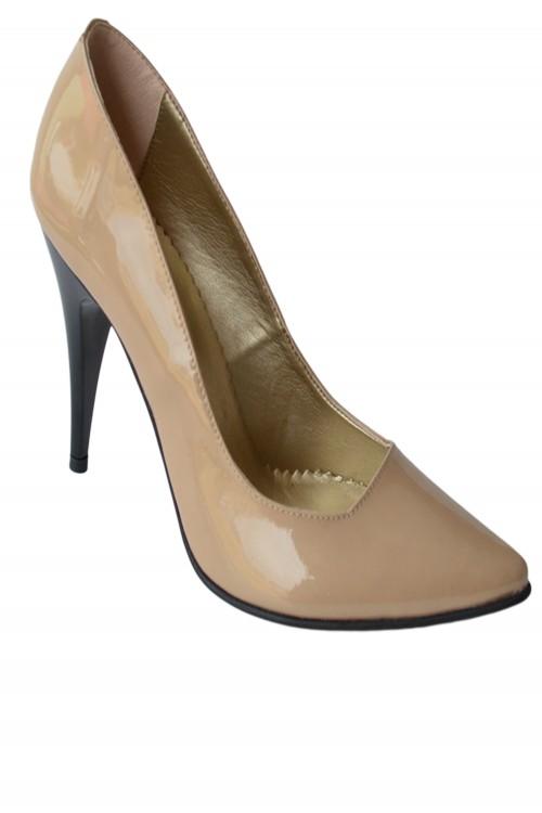 Pantofi dama piele cu toc...