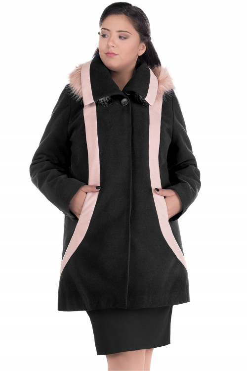 Palton de dama elegant Misty