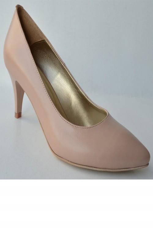 Pantofi dama nude ascutiti...