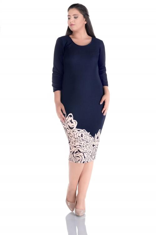 Rochie eleganta de zi Karina