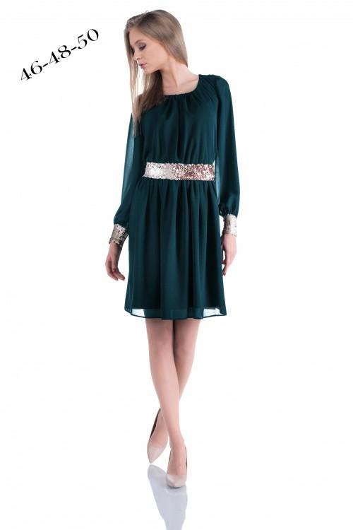 Rochie eleganta din verde...